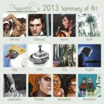 Summary Of Art 2013 by Finnguala