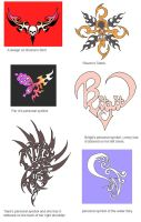 various designs by Wen-M