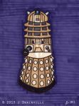 Day 16: Dalek by jdrainville