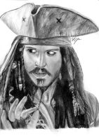 Captain Jack Sparrow by han23