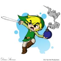 Wind Waker Link - Ready for Battle by SuperDeano1