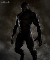 The Wolfman by Zhack-Isfaction