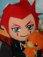 Axel Loves His Torchic by Mars1040