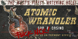 Atomic Wrangler. by FalloutPosters