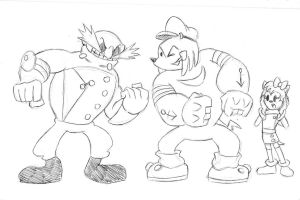 Request: Sonic Boom x Popeye by Chauvels