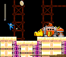 A Screenshot of the GlueMan Stage by MegaPhilX
