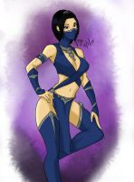 MKX Tournament Kitana by silentninja-1991