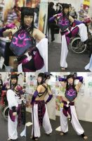 Street Fighter IV Juri Cosplay by sonialeong