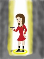 Beam me up Vanessa! by Sprzout
