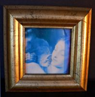 antique style gold frame 2 by clandestine-stock