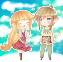 LoZ: Skyward Sword by paytena