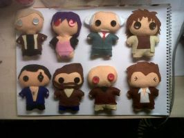 Ghost in the Shell Dolls (COMPLETED!) by azay04