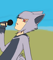 Blake singing by umbreonespeon