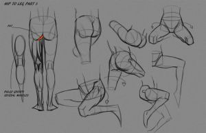 Leg Hip Notes P3 by FUNKYMONKEY1945
