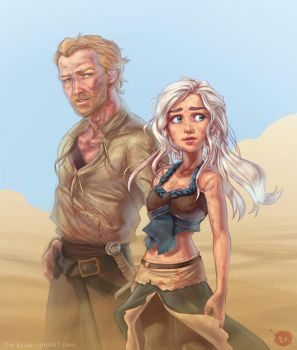 You're Not Alone, Khaleesi by The-Ez