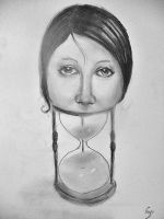 The hourglass by hugomaster5