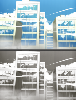 Buildings - experimenting - by Afterlaughs