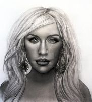 Christina Aguilera The Voice by jardc87