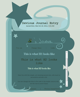 Dreaming Journal Skin by jaclynonacloud