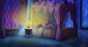 Reading. by CosmicUnicorn
