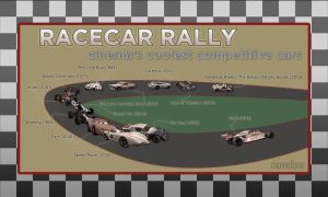 The Utimate Movie Racecar Infographic by maxevry