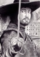 The Musketeer by ArminiusWillabert