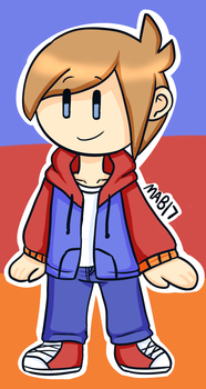 Chibi Me (Redraw) by MixelsAngryBirds17