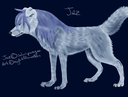 AT :: Jaz - Wolf Form by lucidcoyote