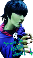 GoRiLLaZ Cosplay Waow, thanks by Murdoc-lein
