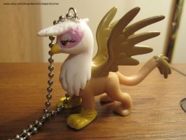 My Little Pony FIM Gilda the Griffin Necklace by colbyjackchz