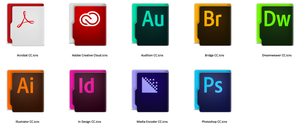 Aquave Adobe CC Folders by theBassment