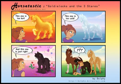 Horsetastic - Goldielocks by DolphyDolphiana