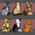 FREE Cat Adoptables II - CLOSED by Meerestier