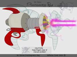 86 Series Disintegrator Ray by JeffereyCook
