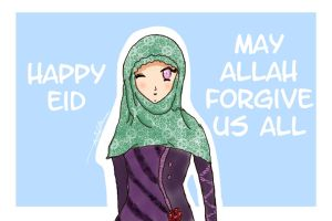 Happy Eid by Wirsha