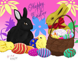 Easter Contest 2014 by Getsuei-san
