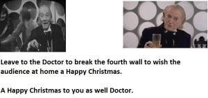 Dr. Who XMas Greeting Tribute by hntr0829