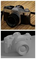 Canon At-1 by ChristianConsoli