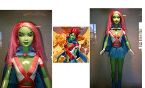 Barbie as Miss Martian by U-Nica