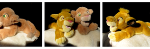 Disney Store - Simba And Nala Floppy Plushes by The-Toy-Chest