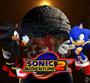 SONIC ADVENTURE 2 POSTER by crash-fm