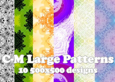 C-M Big Patterns 001 by crowned-meadow