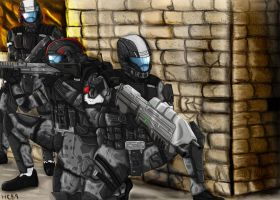 Odst: feet first into hell by megadude234