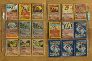 +Flareon Pokemon Cards+ by EeveeFanClub