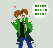 Happy Ben 10 Day by yuminica