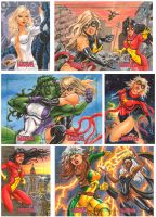 Women of Marvel 2 by JediDad