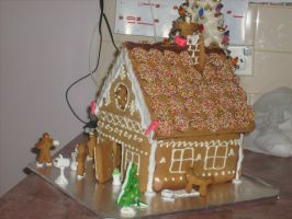 Gingerbread House (4) by jess13795