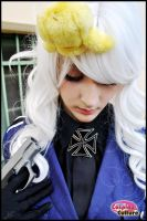 Hetalia - Prussia Nyotalia by cosplayculture
