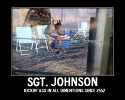 Sgt. Johnson by ZomibeSlayer117