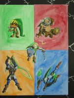 Majora's Mask: Heroes by Grotesque245